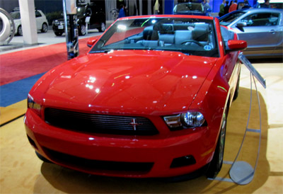 2011 ford mustang v6 convertible picture