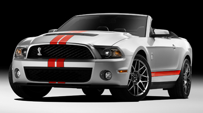 2011 shelby gt500 convertible