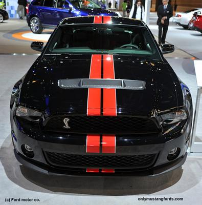 2011 GT500 at Chicago Auto Show Debut