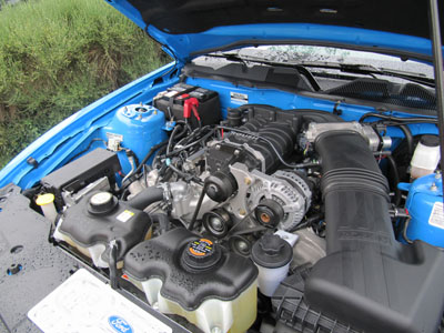 2011 roush 427R engine