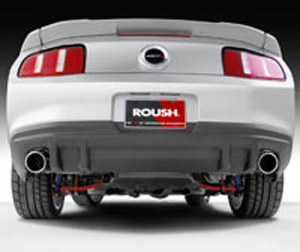 2011 roush mustang rear