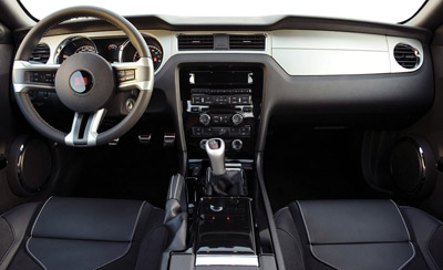 2011 saleen s302 interior