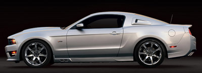 2011 s302 Mustang profile