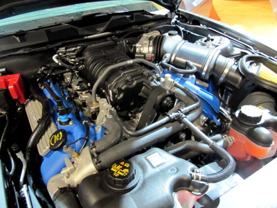 2011 shelby mustang supercharger