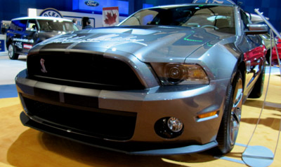 2011 shelby mustang gt500 front