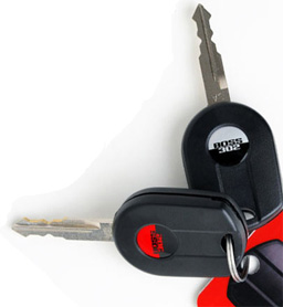 2012 Mustang Boss Track key