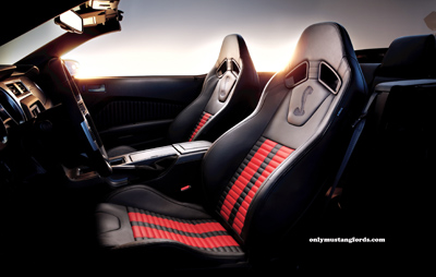 2012 shelby gt500 performance package interior
