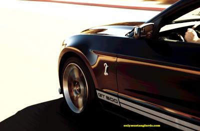 2012 mustang gt 500 stripes