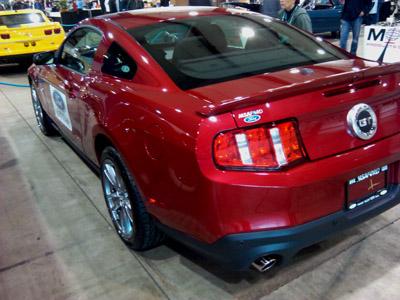 2012 mustang gt rear bumper