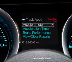 boss 302 track apps display