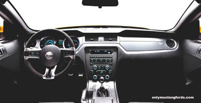2013 Mustang Boss interior