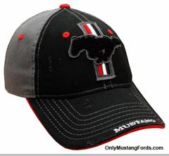 black mustang hat