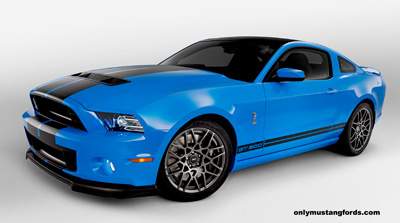 2013 Shelby Mustang GT500 pictures and specs