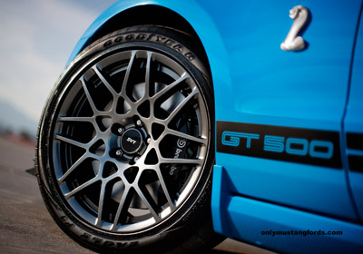 gt500 shelby wheels for 2013