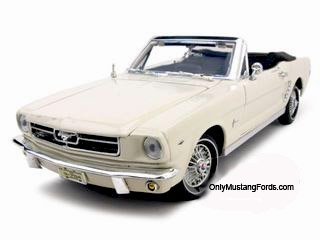 65 mustang convertible diecast model