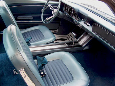 1966 Ford mustang fastback interior
