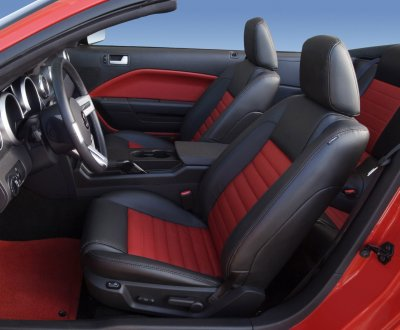 2007 Shelby gt500 interior