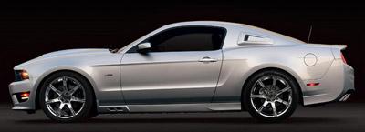 2011 s302 Mustang profile