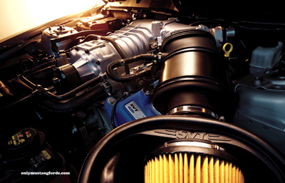 2012 gt500 engine supercharged