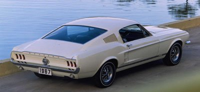 1967 Ford Mustang Fastback 2+2