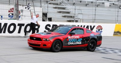 2011 Mustang Challenge mpg record