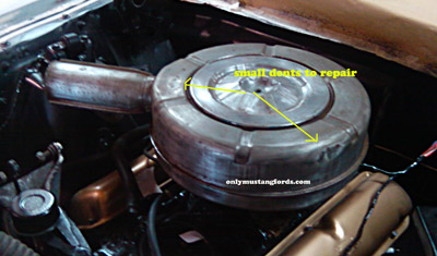 air cleaner dent and scratch repair