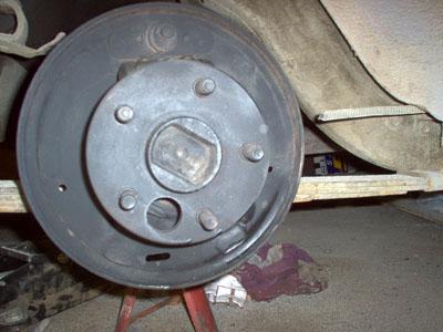 1965 mustang brake backing plate