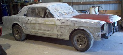 paint your Mustang