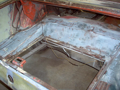 trunk floor repair