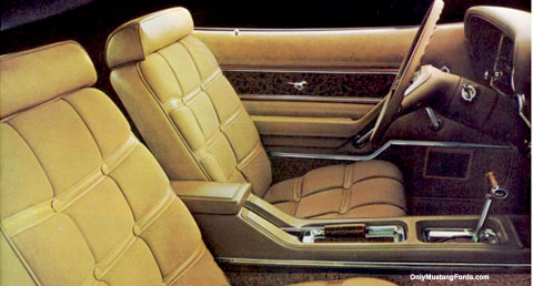 1975 ford mustang ghia interior
