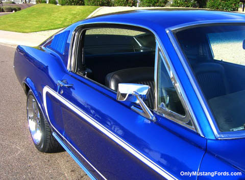 67 Ford Mustang fastback