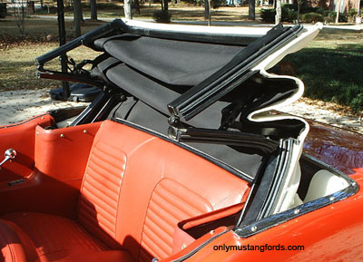 1965 mustang convertible top