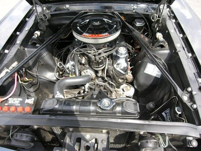 1965 Ford Mustang GT engine