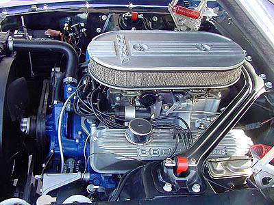 1967 shelby gt500 engine compartment