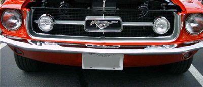 1967 ford Mustang grille
