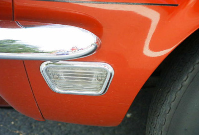 1968 front marker light