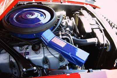 Boss 429 Mustang engine