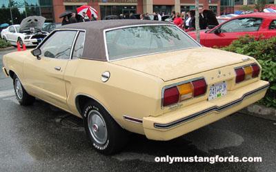 1976 mustang ghia rear bumper
