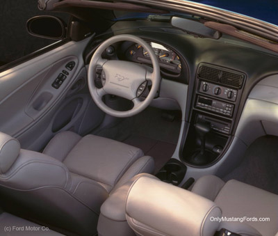 1998 ford mustang interior styling