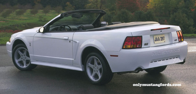 1999 SVT Cobra convertible ultra white