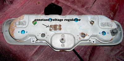 1965 Mustang oil gauge voltage regulator