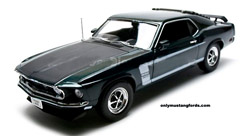black jade boss mustang diecast car