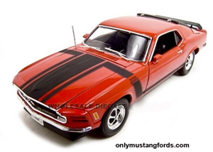 70 boss 302 red diecast
