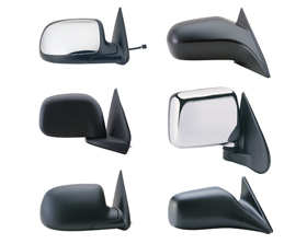 replacement foldable mirror mustang