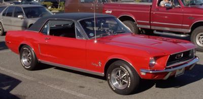 1968 4bbl Mustang GT Hardtop