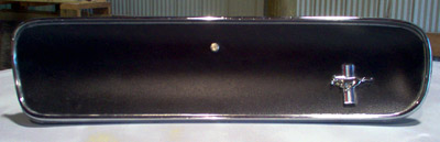 restored 1965 mustang glove box door