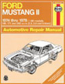 mustang ll repair manual used
