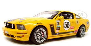 fr500c mustang diecast car 2005