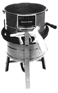 siphon feed sand blaster
