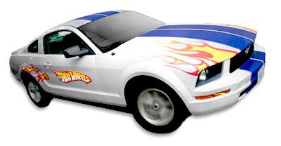 hot wheels color shifter 2010 mustang
